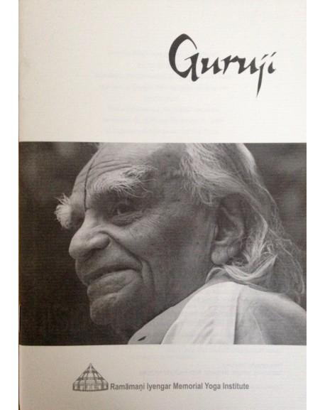 Guruji exhibition catalogue
